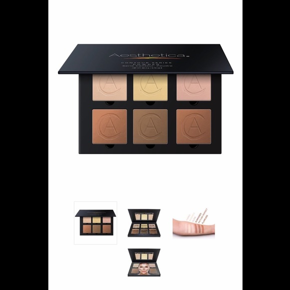 Aesthetica Other - 💖 Aesthetica Pressed Powder Contour Kit